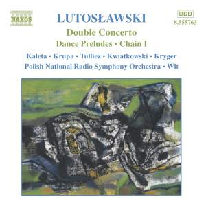 Lutosławski: Concerto for Oboe, Harp, and Chamber Orchestra, etc. Product Image