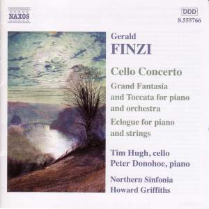 Finzi: Cello Concerto, Eclogue & Grand Fantasia & Toccata