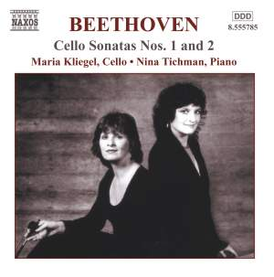 Beethoven - Music for Cello and Piano, Vol.1 Product Image