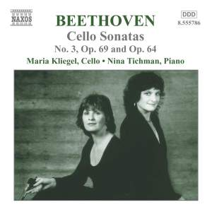Beethoven - Music for Cello and Piano, Vol.2 Product Image