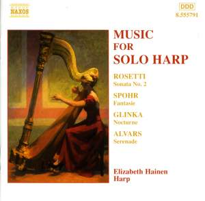 Music for Solo Harp Product Image
