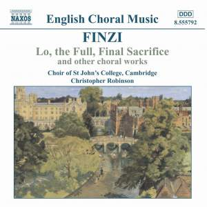 Finzi - Sacred Choral Music Product Image