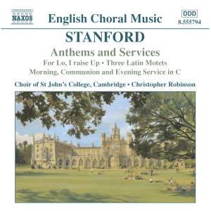 Stanford - Anthems and Services