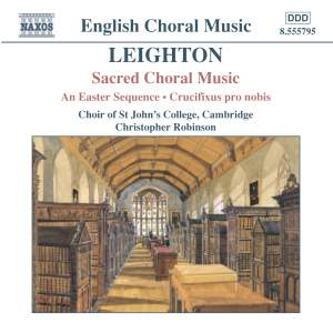 Leighton - Sacred Choral Music Product Image