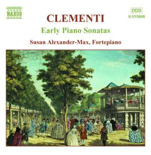 Clementi - Early Piano Sonatas Volume 1 Product Image
