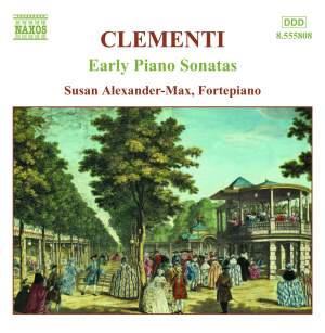Clementi - Early Piano Sonatas Volume 1