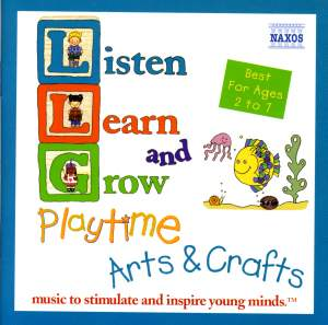 Listen, Learn and Grow: Playtime Arts and Crafts Product Image