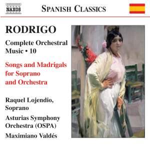 Rodrigo: Complete Orchestral Works, Vol. 10