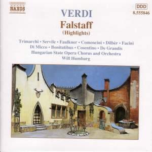 Verdi: Falstaff (highlights) Product Image