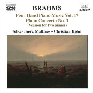 Brahms: Four Hand Piano Music, Volume 17 Product Image