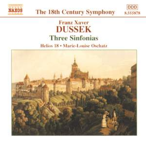 Dussek, F X: Sinfonia in G major, Altner G2, etc. Product Image