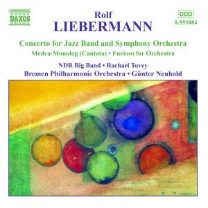 Liebermann, R: Furioso for Orchestra, etc. Product Image