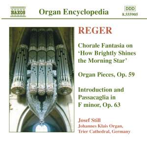 Reger - Organ Works Volume 4 Product Image