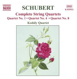 Schubert - Complete String Quartets Volume 4 Product Image