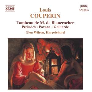 Couperin, L: Five Pieces in D, etc. Product Image