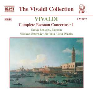Vivaldi - Complete Bassoon Concertos Volume 1 Product Image
