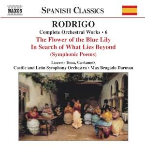 Rodrigo: Complete Orchestral Works, Vol. 6