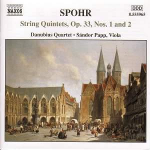 Spohr: String Quintets Nos. 1 & 2