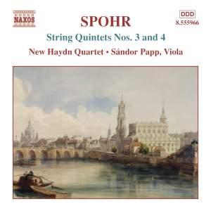 Spohr: String Quintets Nos. 3 & 4 Product Image