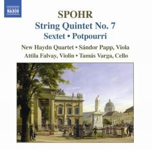 Spohr: String Quintet No. 7 Product Image