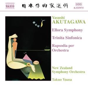 Akutagawa: Ellora Symphony, Trinita Sinfonica & Rapsodia per orchestra Product Image