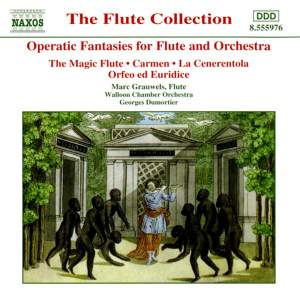 Operatic Fantasies for Flute and Orchestra Product Image