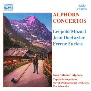 Alphorn Concertos