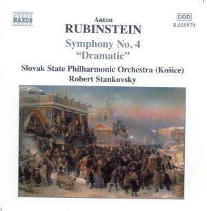 Rubinstein: Symphony No. 4 in D minor, Op. 95 'Dramatic' Product Image