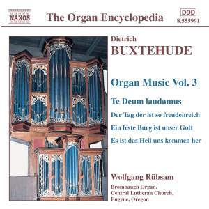 Buxtehude - Organ Music Volume 3