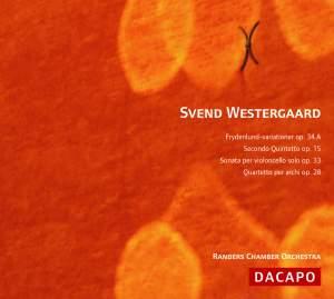 WESTERGAARD: Frydenlund Variations / Wind Quintet No. 2 / Cello Sonata Product Image