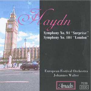Haydn: Symphonies Nos. 94 & 104 Product Image
