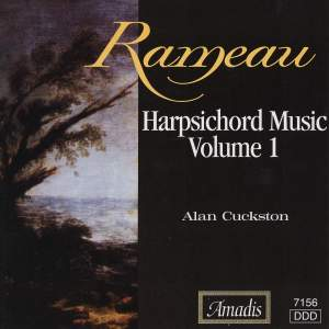 Rameau: Harpsichord Music, Vol. 1