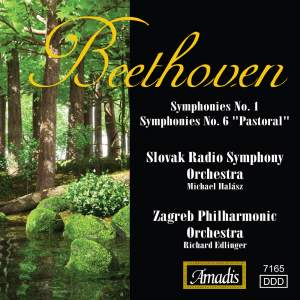 Beethoven: Symphonies Nos. 1 and 6 Product Image