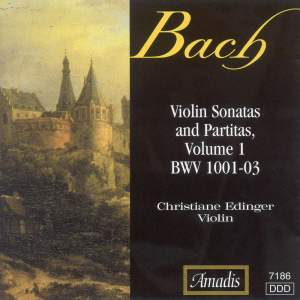 Bach: Sonatas and Partitas for Solo Violin, Vol. 1 Product Image