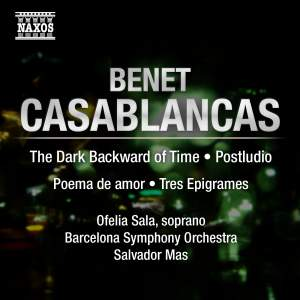 Benet Casablancas: The Dark Backward of Time