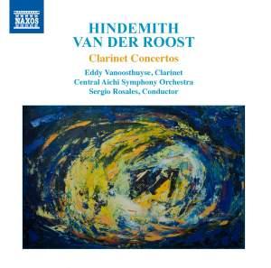 Hindemith & Van Der Roost: Clarinet Concertos