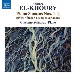 Bechara El-Khoury: Piano Sonatas Nos. 1-4