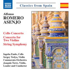 Alfonso Romero Asenjo: Cello Concerto, Concerto for Two Violins, String Symphony