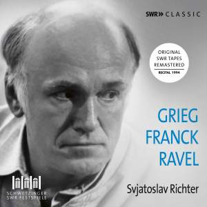 Svjatoslav Richter plays Grieg, Franck and Ravel