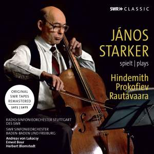 János Starker plays Cello Concertos by Hindemith&#x3B; Prokofiev & Rautavaara Product Image