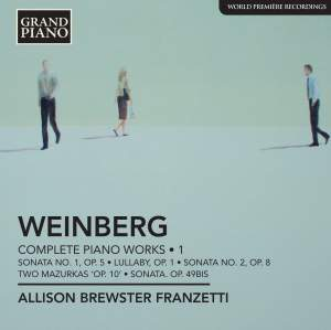 Weinberg: Complete Piano Works Volume 1