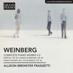 Weinberg: Complete Piano Works Volume 2 Product Image
