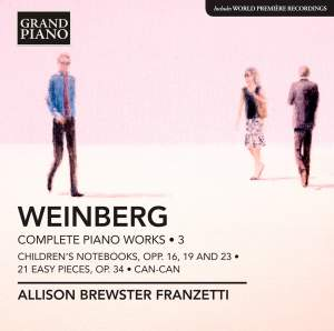Weinberg: Complete Piano Works Volume 3