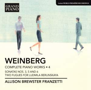 Weinberg: Complete Piano Works Volume 4