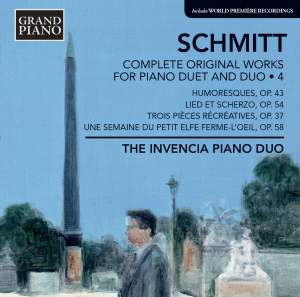 Florent Schmitt: Complete Original Works for Piano Duet and Duo 4 Product Image