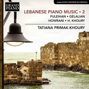 Lebanese Piano Music, Vol. 2