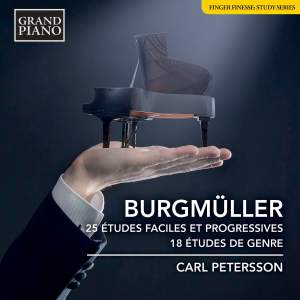 Burgmüller: 25 Easy and Progressive Studies, Op. 100 & 18 Characteristic Studies, Op. 109