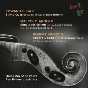 Elgar: String Quartet Product Image