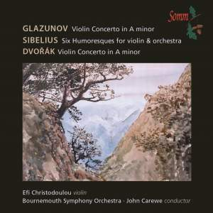 Glazunov, Sibelius & Dvorak: Works for Violin & Orchestra