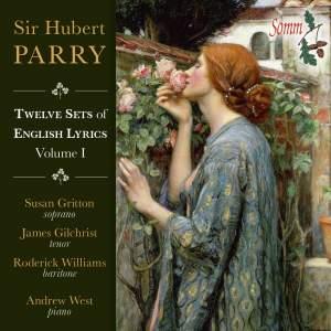 Parry: English Lyrics & other Songs Vol. I